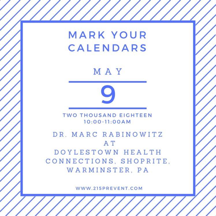 Doylestown Health Prevention First Healthcare Dr. Marc Rabinowitz