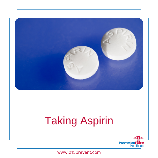 Taking Aspirin