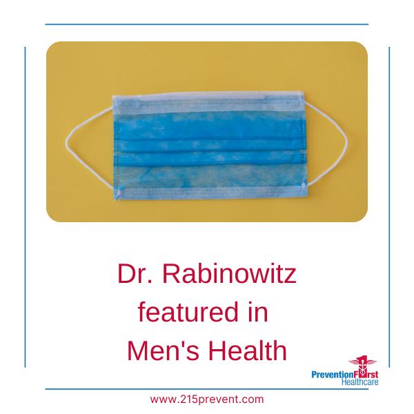Dr. Rabinowitz featured in Men's Health