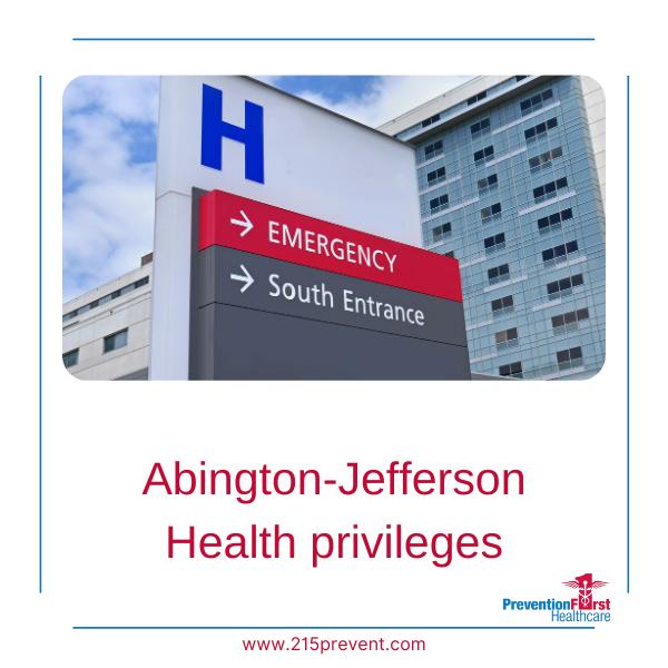 Abington-Jefferson Health privileges