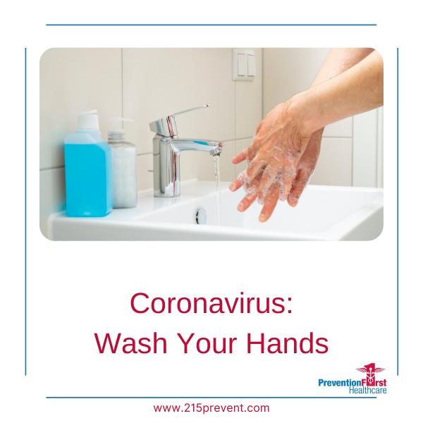 Coronavirus: Wash Your hands